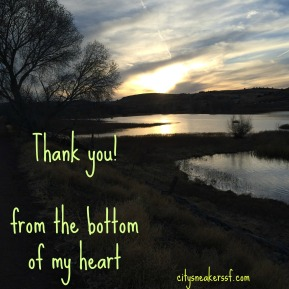 From the bottom of my heart…