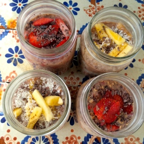 Overnight Oats: 2 ways {So Delicious and Go Dairy Free March Recipe Madness Contest!}